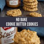 No Bake Cookies with Cookie Butter