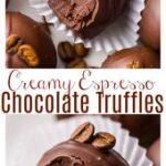 Super Easy 5-Ingredient Espresso Chocolate Truffles