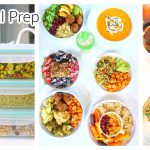 MEAL PREP for FALL | 10 Ingredients | Healthy Recipes + Printable Guide [w/ Bloopers]