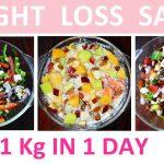 Weight Loss Salad(In Hindi 3 Healthy Salad Recipe For Weight Loss Flat Belly Salad Easy Salad Recipe