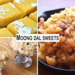 Moong Dal Sweets – Moong Dal Halwa, Moong Dal Barfi and Pongal Recipe – Indian Sweets