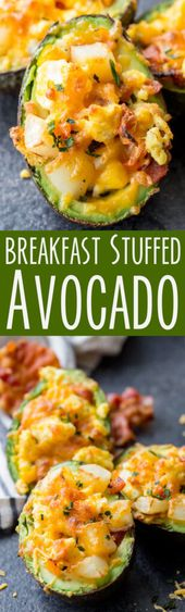 Breakfast Stuffed Avocado…