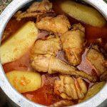 Traditional Chicken Stew Recipe | Chicken Stew With Potatoes | Çox Dadlı Toyuq Sousu  | Asmr
