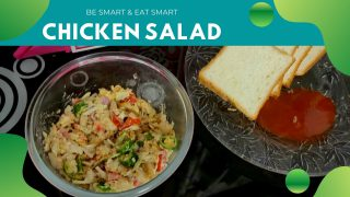 Healthy Chicken Salad Recipe | Easy Home-made Recipe | Post Workout Meal (Weight Loss Recipe)