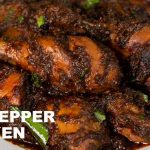 Dry Pepper Chicken ! Black Pepper Chicken Recipe