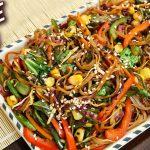 Noodle Salad   Soba Noodle Healthy Salad Recipe   World Vegetarian Day   Ruchi
