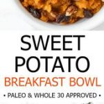 This sweet potato breakfast bowl is an easy, make-ahead healthy breakfast that r…