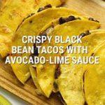 Vegetarian Black Bean Tacos