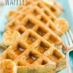 Cinnamon Vegan Waffles are the perfect breakfast, brunch or dessert. This easy r…