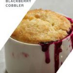 Sublime Keto Blackberry Cobbler ~ Classy and 6 Net Carbs