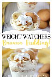 Weight Watchers Banana Pudding Recipe