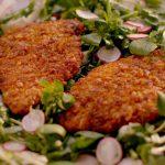 Crunchy chicken cutlets recipe – Simply Nigella: Episode 2 – BBC Two