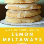 Quick  Easy Recipes: Lemon Meltaways Cookie Recipe