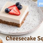 Vegan Cheesecake Squares Recipe I Almond Cow