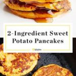 These 2-Ingredient Sweet Potato Pancakes couldn't be easier! The trick is to…