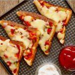 Bread Pizza Recipe | Quick and Easy Bread Pizza | ५-मिनट मैं तवा ब्रेड पिज़्ज़ा बनाने की विधि