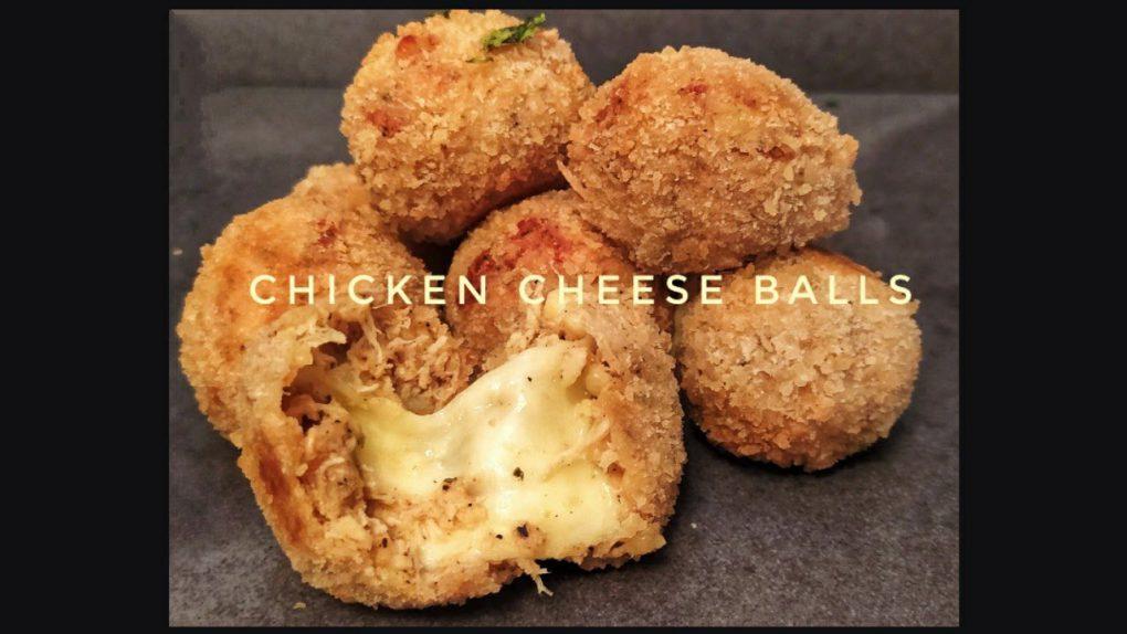 Chicken Cheese Balls Recipe   Crispy Cheese Balls Recipe   Appetizer