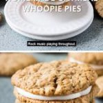 Homemade Oatmeal Whoopie Pies