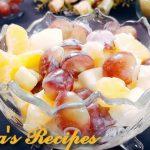 দ্রুত ওজন কমাতে সহায়ক Fruit Salad Recipe Mix fruit Salad Easy Fruit Salad Reipe