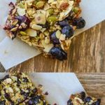 Oatmeal Superfood Breakfast Bars loaded with protein, clean, healthy ingredients…