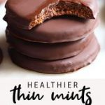 Healthier Thin Mints | Vegan, + Gluten-Free Easy Recipe