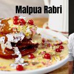 Malpua Rabri मालपुआ रबरी   Kunal Kapur Indian Dessert Recipes   Chef Kapoor Holi Recipe Festive