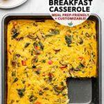 Vegan Breakfast Casserole | Easy Steps + Customizable – From My Bowl