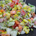 హెల్తి వెజిటబుల్ స్ప్రౌట్ సలాడ్ Healthy Vegetable Sprout Salad Recipe in Telugu
