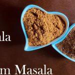 Home made Garam Masala and Sabji Masala || Indian Vegetarian recipes || Hotpot Vegetarian Recipes||