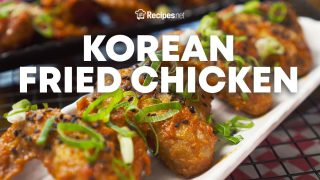 KOREAN FRIED CHICKEN RECIPE – Crispy Kimchi Fried Chicken Wings | Recipes.net