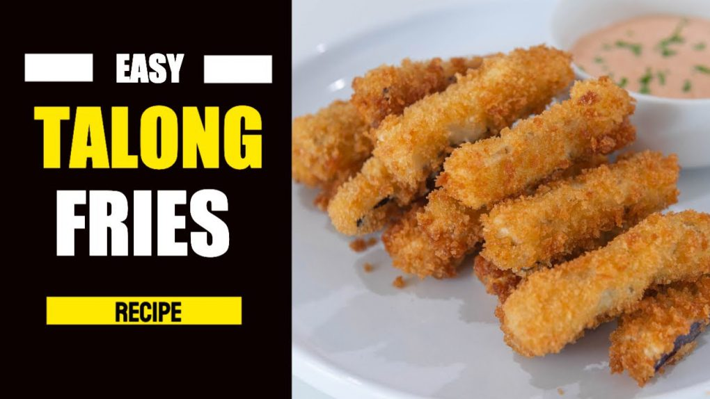 Super Crispy Talong Fries   Easy Appetizer Recipe