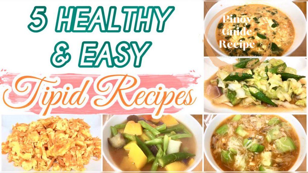 5 HEALTHY & EASY RECIPE|MURANG ULAM|HITIK SA SUSTANSIYA