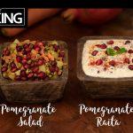 Pomegranate salad | Pomegranate Raita | Healthy Recipes | Salad Recipes