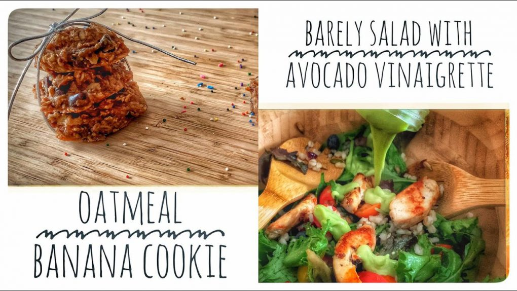 Healthy Recipes: Barley Salad & Oatmeal Banana Cookies