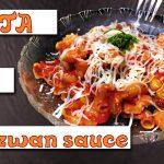Spicy Red Sauce Pasta Recipe with indian twist, (SECRET INGREDIENT : SCHEZWAN SAUCE!!!)