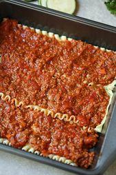 Turkey beef tomato lasagna recipe for weight watchers – #healthyrecipes #lowcalo…