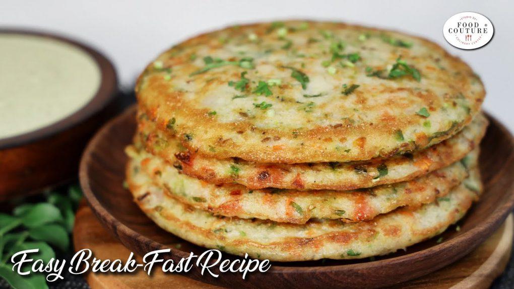 Easy Breakfast Recipe -Nutri Vegetable Roastie
