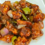 Chicken Chilli Dry Recipe by Cooking with Benazir