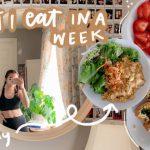 what i eat in a week (easy vegan recipe ideas!)