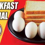 পাউরুটি ও ডিম দিয়েই লোভনীয় ব্রেকফাস্ট তৈরি – Quick Easy Breakfast Recipe With Egg & Bread In Bengali