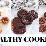 HEALTHY COOKIES: easy healthy dessert recipes, paleo