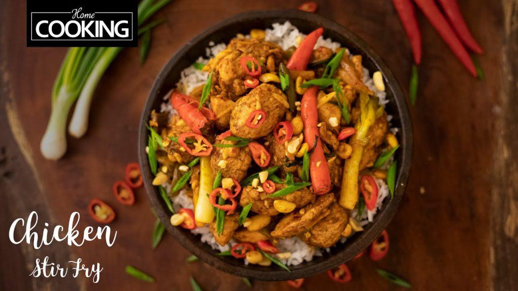 Chicken Stir Fry   Quick & Easy Chicken Recipes   Dinner Recipes