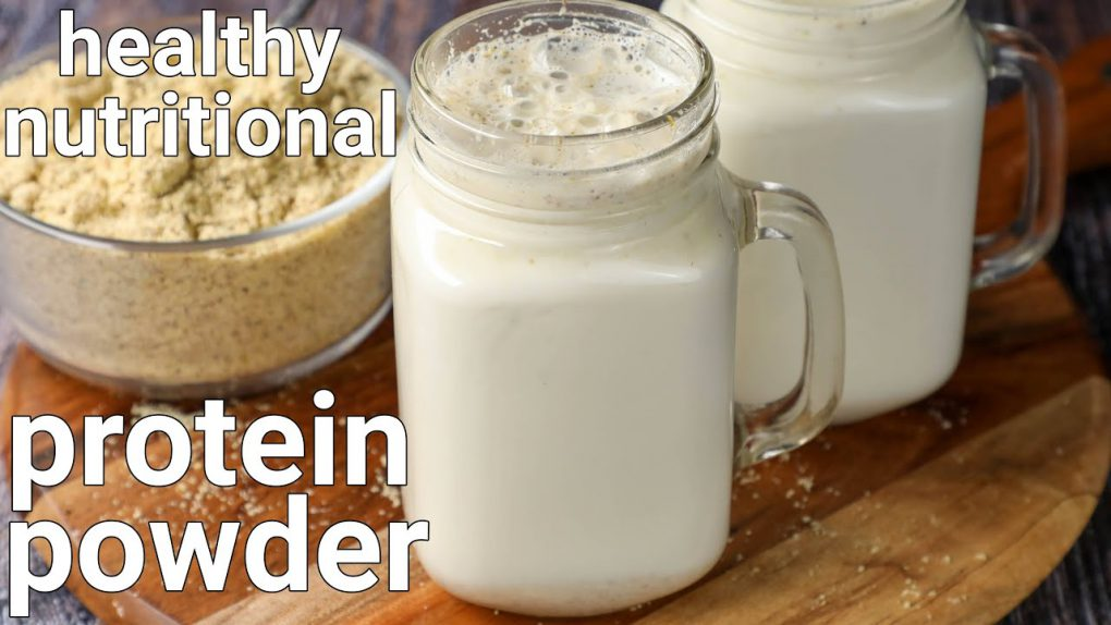 homemade weight loss protein powder in 10 minutes | protein shake recipes | healthy diet recipe