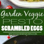 Scrambled eggs get a BIG boost in the flavor department with a rainbow of garden…