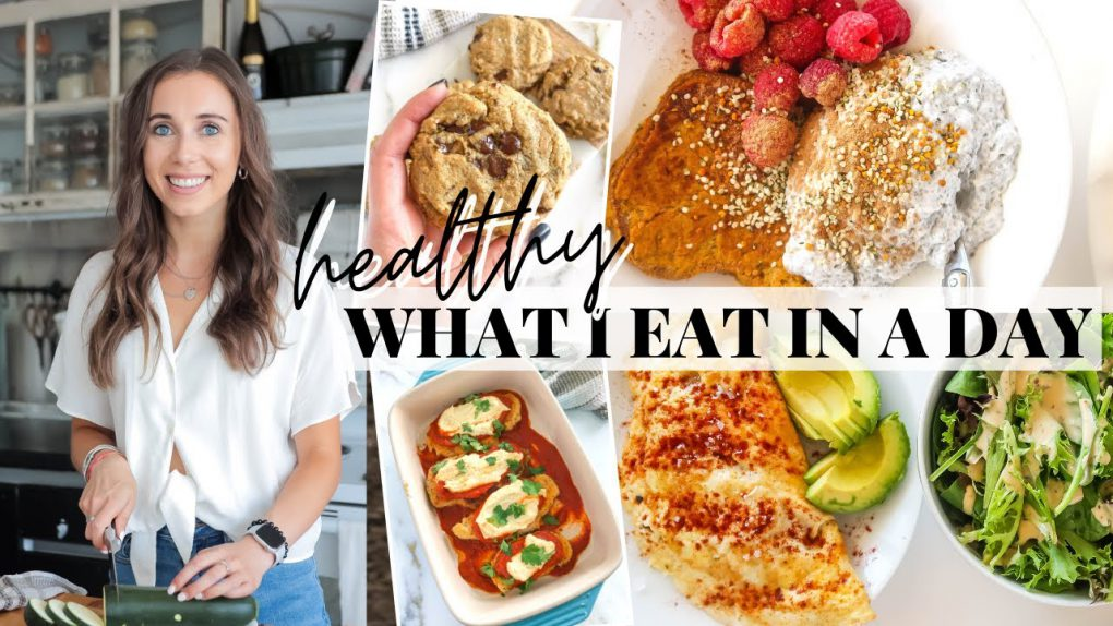 WHAT I EAT IN A DAY: healthy, realistic, paleo recipes