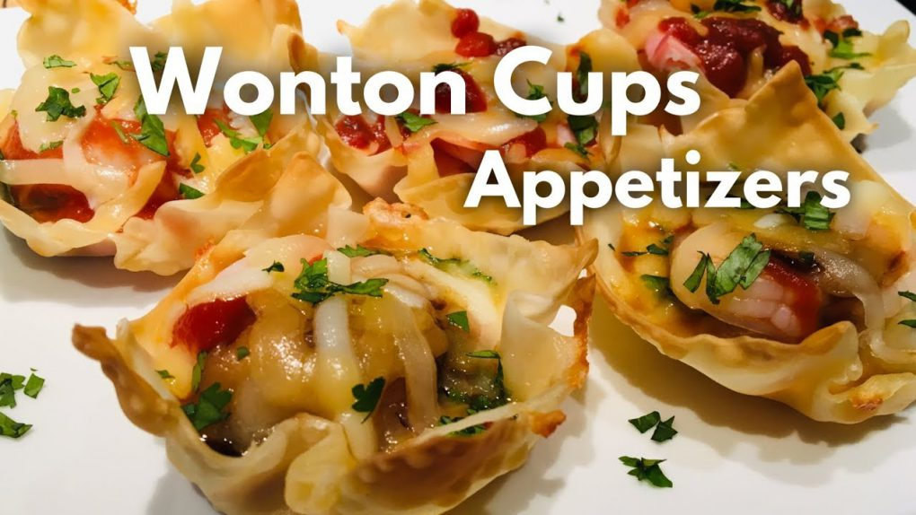 Wonton Cup Appetizers Ep.54