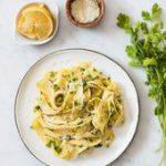 Lemon Cilantro Pasta…