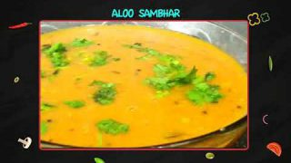 Potato Sambar [Weekend Recipes] Easy to Make Sambar with limited vegetables