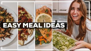 EASY 1 PERSON MEAL IDEAS | 7 Healthy Recipes from Trader Joe's | 2020