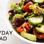 Everyday Salad Recipe | Easy Salad Recipe